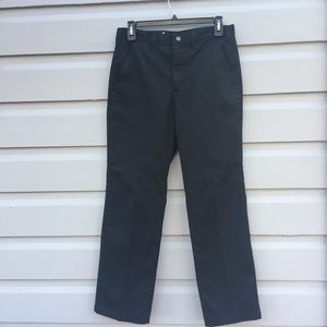 Men's Carhartt Black Pants Heavy Duty Work 33x32